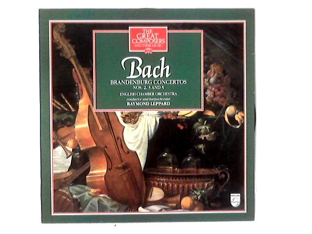 Brandenburg Concertos Nos. 2, 3 And 5 LP By Johann Sebastian Bach