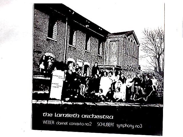 Clarinet Concerto No. 2 - Symphony No. 3 LP By The Lambeth Orchestra