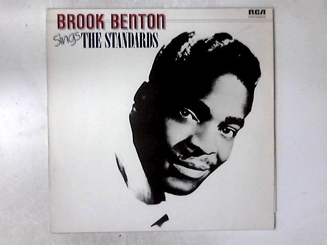 Sings The Standards LP by Brook Benton