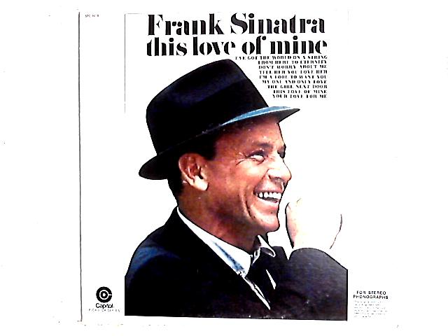 This Love Of Mine LP By Frank Sinatra