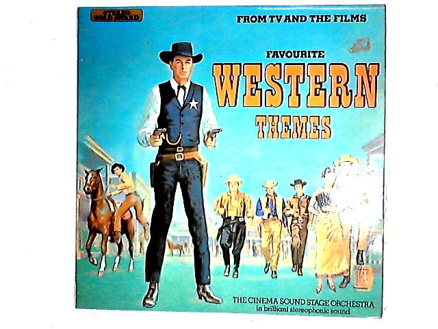 Favourite TV And Film Western Themes LP By The Cinema Sound Stage Orchestra