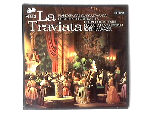 La Traviata 2xLP By Giuseppe Verdi