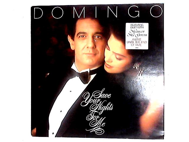 Save Your Nights For Me LP By Placido Domingo