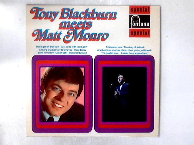 Tony Blackburn Meets Matt Monro LP By Tony Blackburn