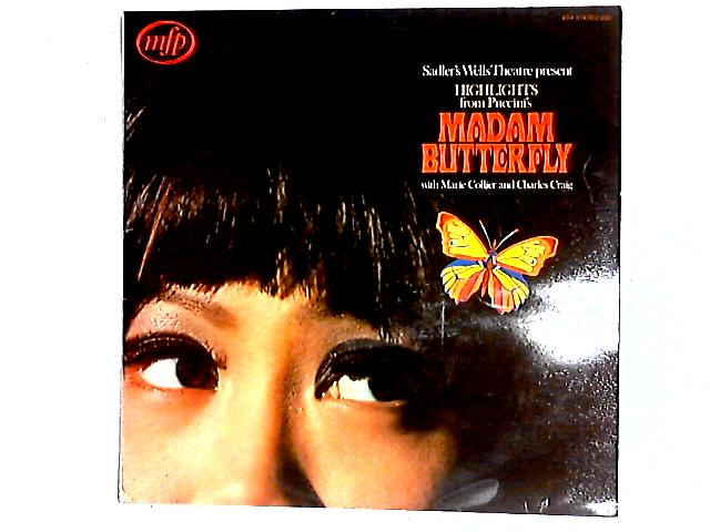 Madam Butterfly (Highlights) LP By Sadler's Wells Orchestra
