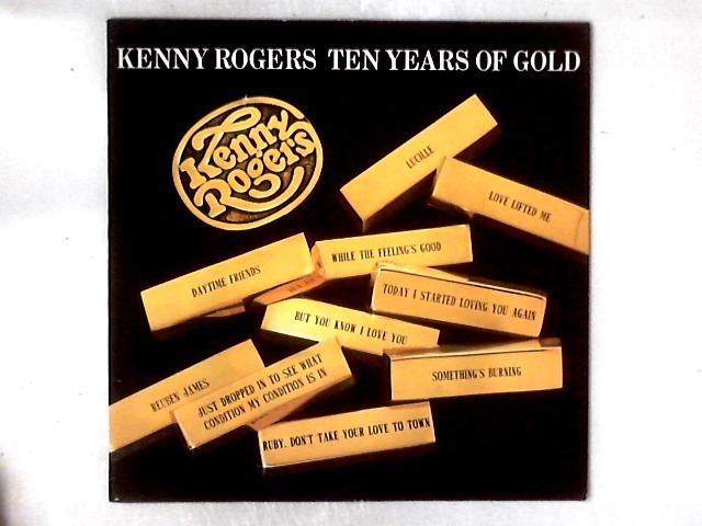 Ten Years Of Gold LP COMP By Kenny Rogers