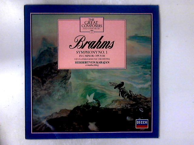 Symphony No. 1 In C Minor, Opus 68 LP + BOOKLET By Johannes Brahms