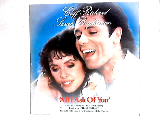 All I Ask Of You 12in By Cliff Richard