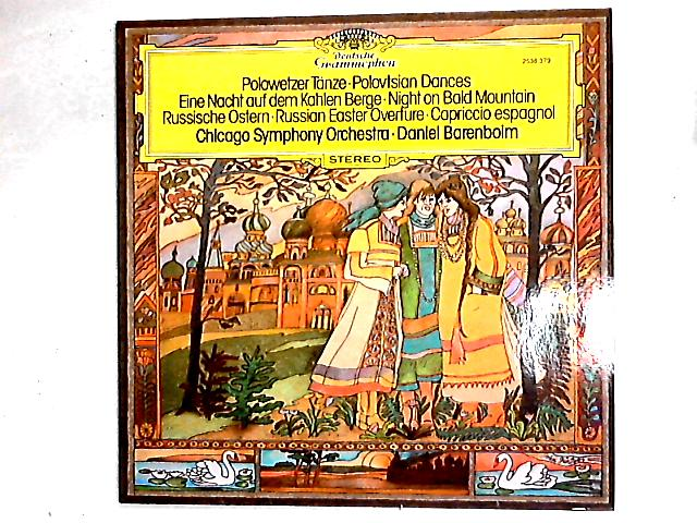 Polovtsian Dances, Night On The Bare Mountain, Russian Easter Overture, Capriccio Espagnol LP By The Chicago Symphony Orchestra