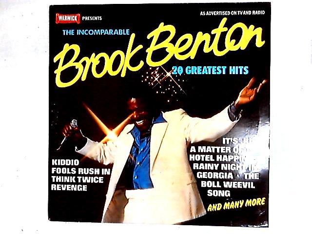 The Incomparable Brook Benton Comp By Brook Benton
