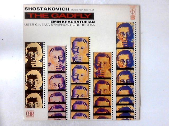 Music For The Film: The Gadfly LP By Dmitri Shostakovich