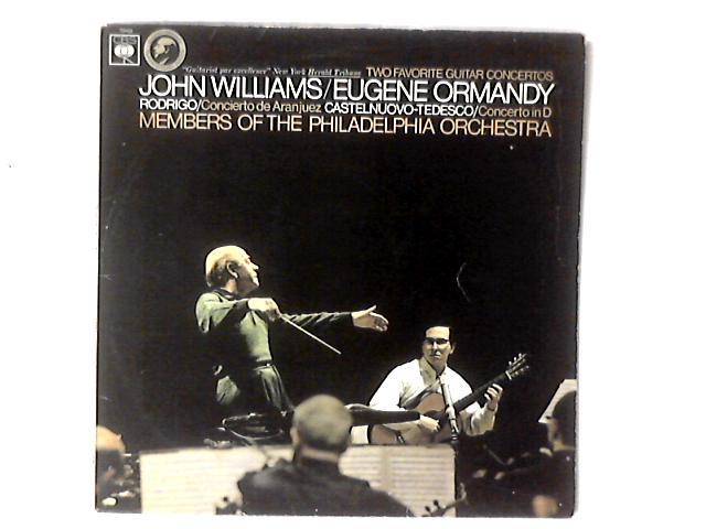 Two Favourite Guitar Concertos: Concierto De Aranjuez / Concerto In D LP By John Williams (7)