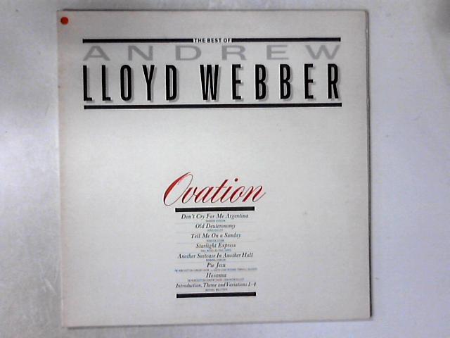 Ovation - The Best Of Andrew Lloyd Webber LP COMP By Andrew Lloyd Webber