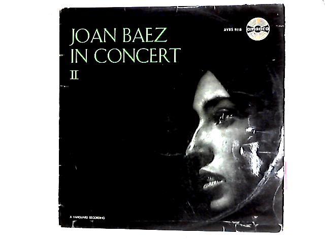 In Concert II LP By Joan Baez