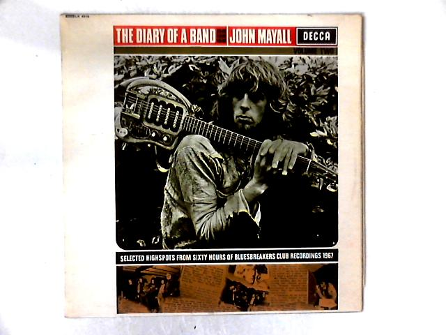 The Diary Of A Band Volume Two LP By John Mayall