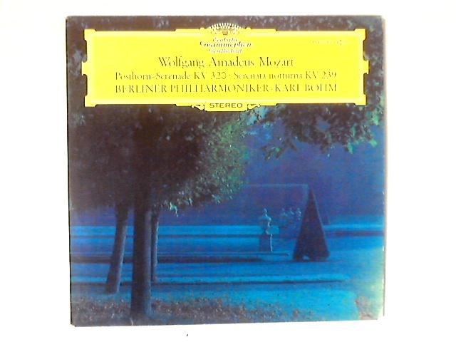 Posthorn-Serenade KV 320 / Serenata Notturna KV 239 LP By Wolfgang Amadeus Mozart