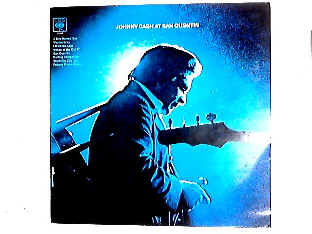 Johnny Cash At San Quentin LP By Johnny Cash