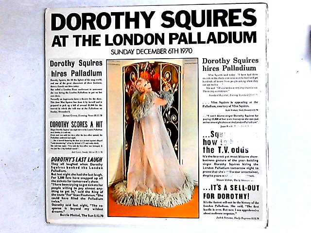 At The London Palladium 2LP Gat By Dorothy Squires