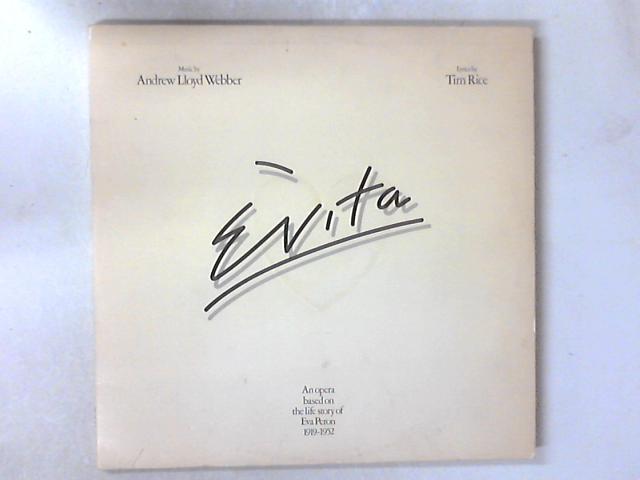 Evita 2xLP by Andrew Lloyd Webber And Tim Rice