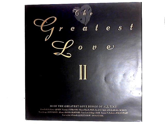The Greatest Love II 2LP Comp By Various