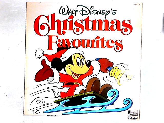 Walt Disney's Christmas Favourites LP by Various