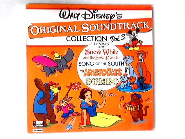 Walt Disney's Original Soundtrack Collection Vol. 3 LP COMP by Various