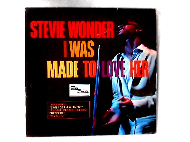 I Was Made To Love Her LP by Stevie Wonder