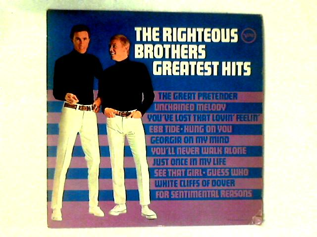 The Righteous Brothers Greatest Hits LP COMP by The Righteous Brothers