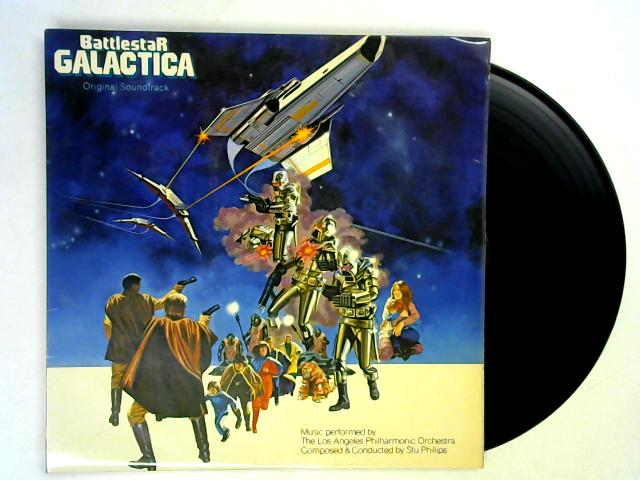 Battlestar Galactica (Original Soundtrack) LP 1st By Various