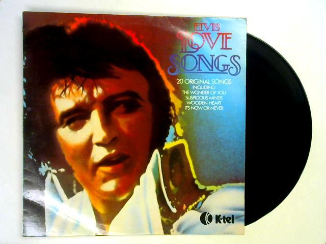 Elvis Love Songs (20 Original Songs) LP By Elvis Presley