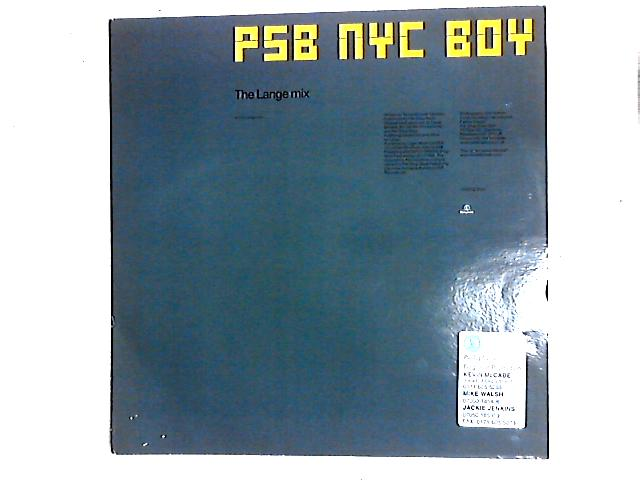 NYC Boy (The Lange Mix) 12in By Pet Shop Boys