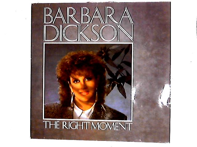 The Right Moment LP By Barbara Dickson