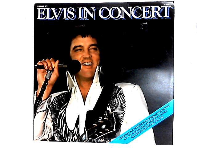 Elvis In Concert 2LP Gat By Elvis Presley