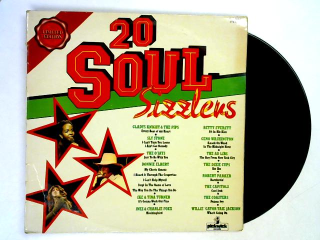 20 Soul Sizzlers LP By Various