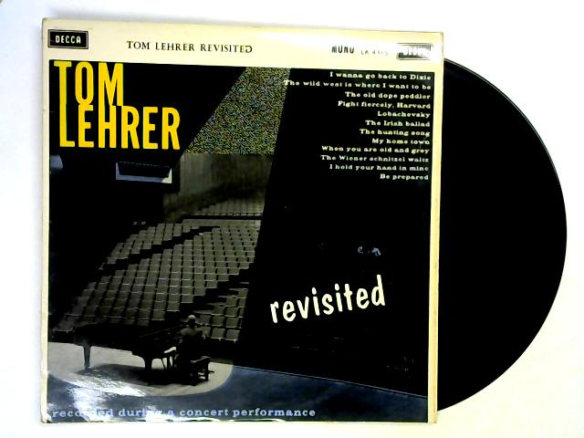 Tom Lehrer Revisited LP By Tom Lehrer