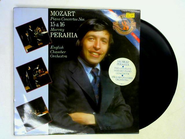 Piano Concertos Nos. 15 & 16 LP By Mozart, Murray Perahia, ECO