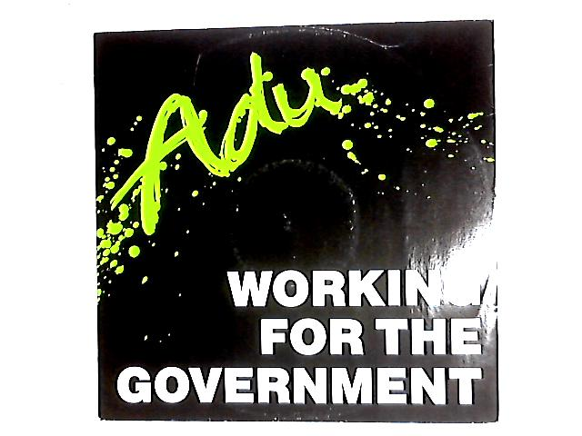 Working For The Government 12in By Rauf Adu