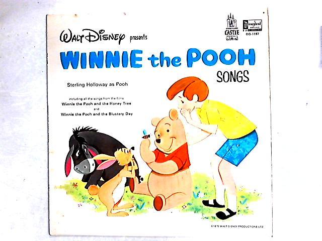 Walt Disney Presents Winnie The Pooh Songs LP By Unknown Artist