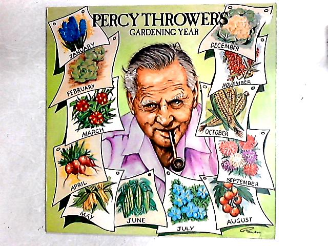 Percy Thrower's Gardening Year LP by Percy Thrower