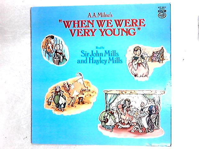 "A.A. Milne's ""When We Were Very Young"" LP By John Mills"