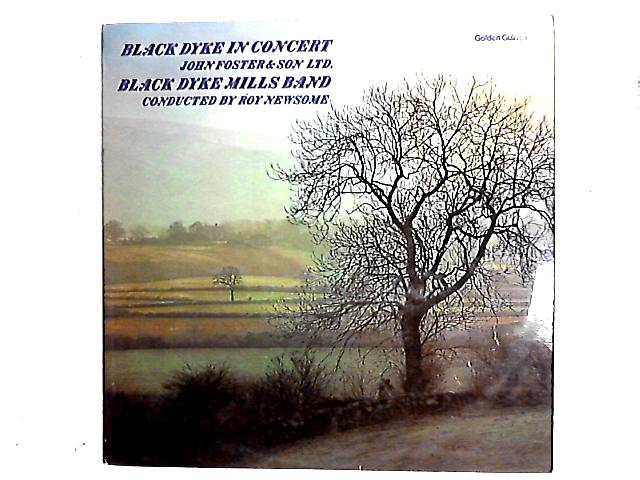 Black Dyke In Concert LP by The Black Dyke Mills Band