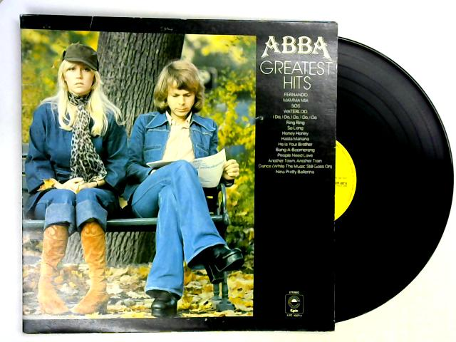 Greatest Hits LP by ABBA
