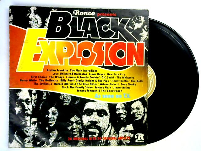 Black Explosion LP by Various