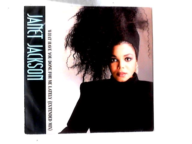 What Have You Done For Me Lately 12in by Janet Jackson