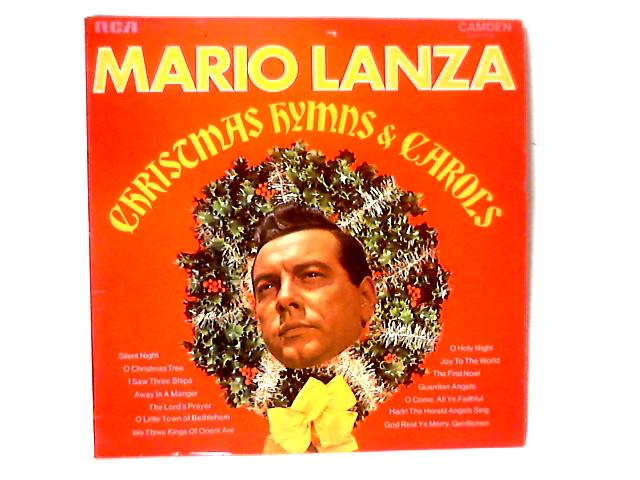 Christmas Hymns & Carols LP by Mario Lanza
