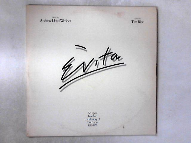 Evita 2xLP by Andrew Lloyd Webber And Tim Rice