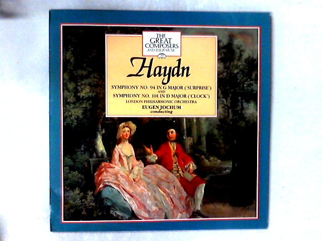 Symphony No.94 In G Major ('Surprise') And Symphony No. 101 In D Major ('Clock') LP + BOOKLET By Joseph Haydn