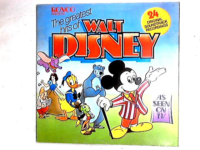 The Greatest Hits Of Walt Disney LP Gat By Various