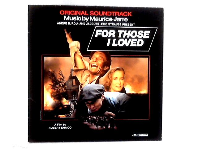 For Those I Loved LP By Maurice Jarre