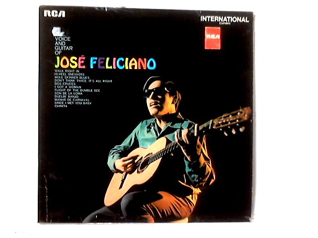 The Voice And Guitar Of José Feliciano LP by José Feliciano